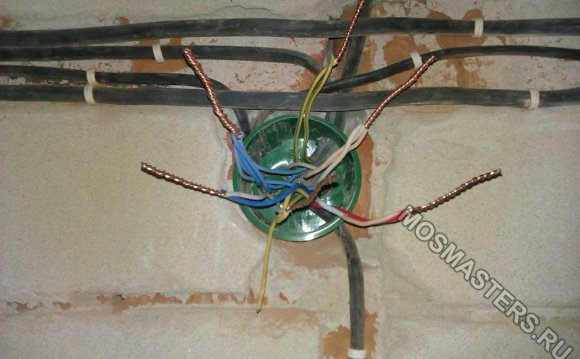 Разводка электрики по полу?