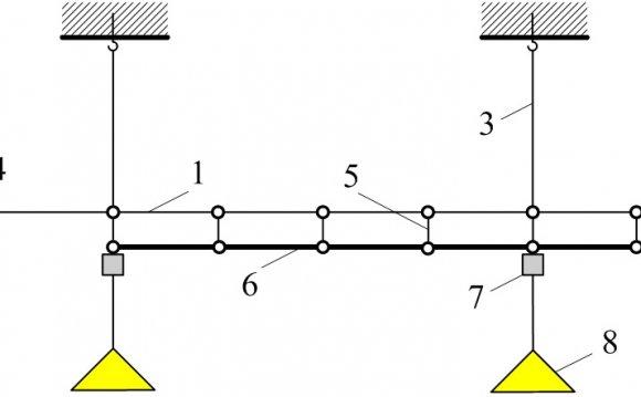 Схема тросовой электропроводки