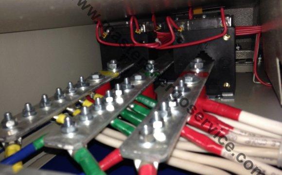 Монтаж проводов и кабелей